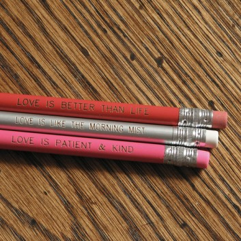 Pencils-love-is